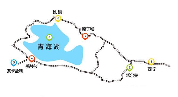 青海湖拼车一日游